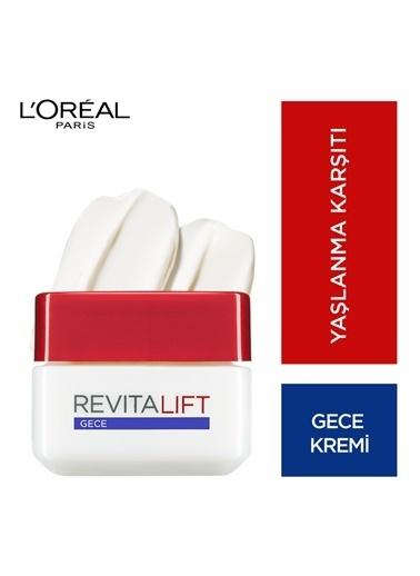 L'Oréal Paris Revitalift Yaşlanma Karşıtı Gece Bakım Kremi Renkli